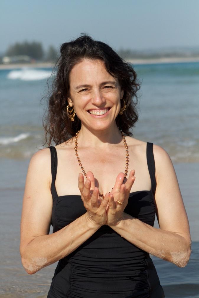 Lotus Mudra Rachel Zinman Yoga