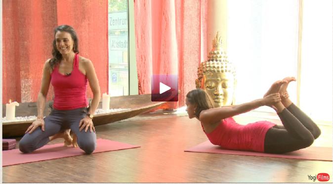 kapha Balancing yoga practice with Rachel Zinman