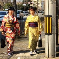 tourists in Kyoto